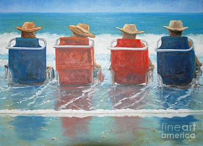 Painting - Just Chillin by Keith Wilkie