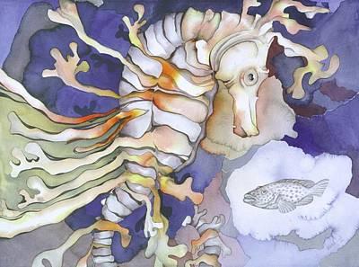 Just Dreaming Too Print by Liduine Bekman