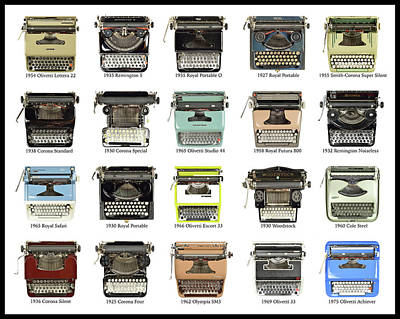 Olivetti Photograph - Just My Type by Keith Broadhurst