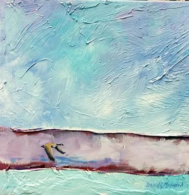 Painting - Just Skimming The Surface  by David  Maynard