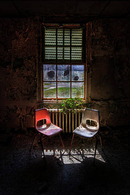 Asylum Photograph - Just The Two Of Us by Evelina Kremsdorf