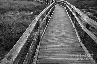Bridge Photograph - Just Walk by Angelo DeVal