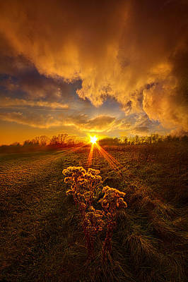 Just You And I Print by Phil Koch