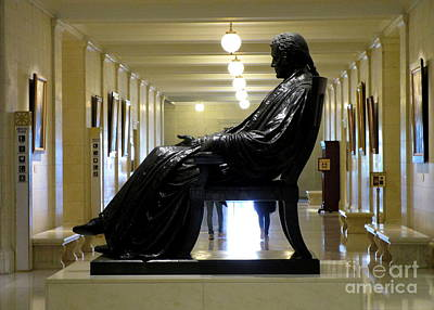Wetmore Photograph - Justice John Marshall 1 by Randall Weidner