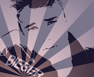 Bieber Digital Art - Justin Bieber Pop Art Poster by Dan Sproul