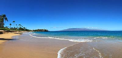 Coastline Digital Art - Kaanapali Beach In Maui Hawaii by Stacia Blase