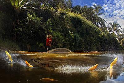Fishermen Photograph - Kabur....... by Andre Arment
