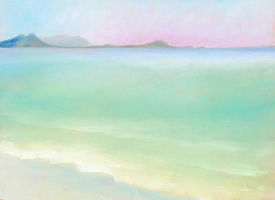 Kailua Sunrise Print by Angela Treat Lyon