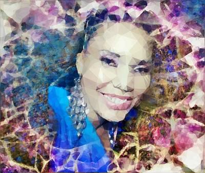 Kaleidoscope Print by Annah Wakesho Mkoji