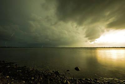 Lightning Photograph - Kampeska Rotation by Aaron J Groen