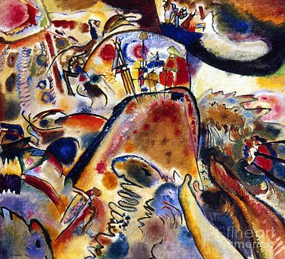 Aodcc Painting - Kandinsky Small Pleasures by Granger