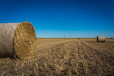 Kansas Farming #2 Print by Jon Manjeot