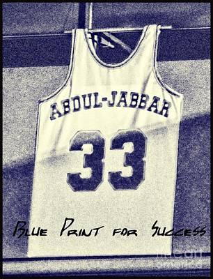 Kareem Abdul-jabbar Print by RJ Aguilar