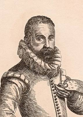 Flemish Drawing - Karel Van Mander 1548-1606 Flemish by Vintage Design Pics