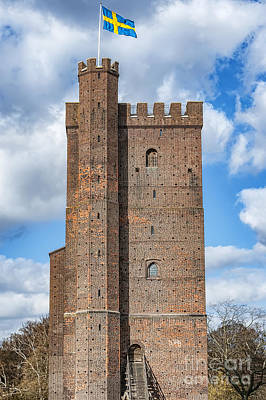 Helsingborg Photograph - Karnan Fort In Helsingborg by Antony McAulay