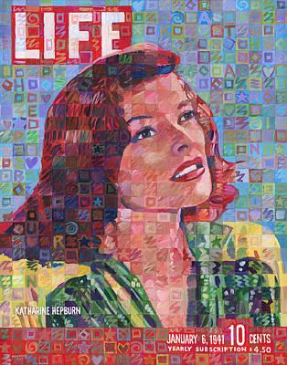 Katherine Hepburn Painting - Katharine Hepburn January 6 1941 by Randal Huiskens
