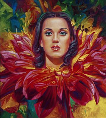 Katy Flower Original by Yury Fomichev