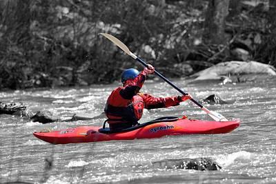 Kayak 1 Print by Todd Hostetter