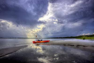 Panama City Beach Fl Photograph - Kayak Pcb by JC Findley