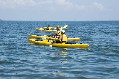 Kayak Trip Print by Stacey Lynn Payne