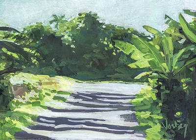 Haleiwa Painting - Keanae Bananas by Stacy Vosberg