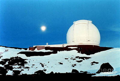 Keck Photograph - Keck Observatory by Science Source