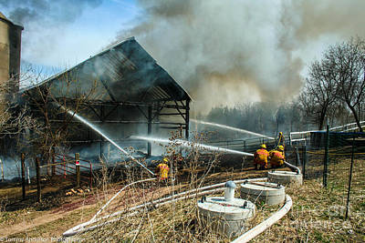 Fireground Photograph - Keep Fire In Your Life #15 by Tommy Anderson