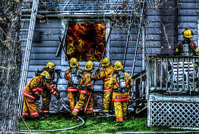 Fireground Photograph - Keep Fire In Your Life No 1 by Tommy Anderson