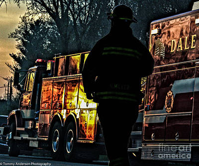 Fireground Photograph - Keep Fire In Your Life No 4 by Tommy Anderson