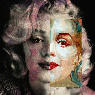 Blonde Digital Art - Keep Me Safe Lie With Me Stay Beside Me Don't Go by Paul Lovering
