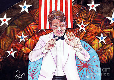 Keith Lockhart And The Boston Pops 4th Of July Original by Dave Olsen