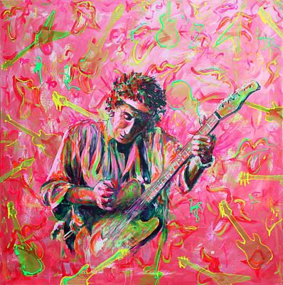 Keith Richards Original by M K Anisko