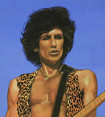 Keith Richards Original by Michael Jager
