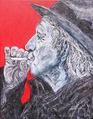 Keith Richards Original by Michael Titherington
