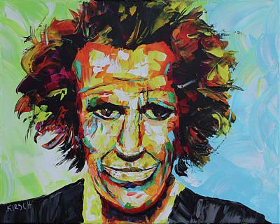 Keith Richards Original by Robert Kirsch