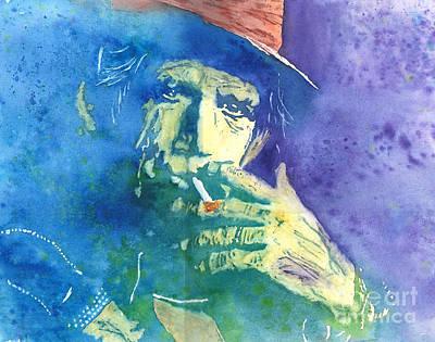 Keith Richards Original by Robert Nipper