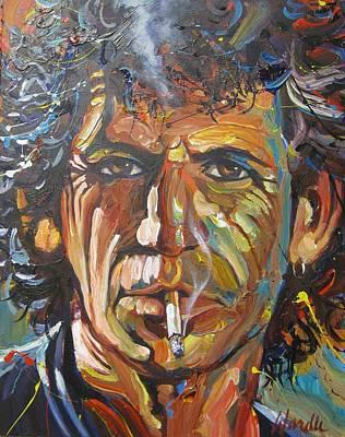 Keith Richars Original by Michael Wardle