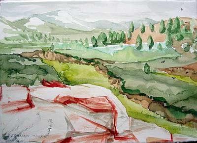 Kennedy Meadows 2 Print by Amy Bernays