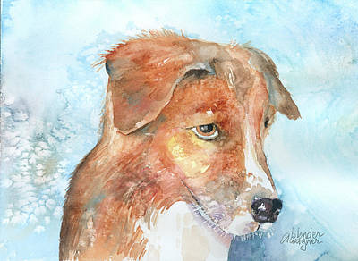 Dogs Painting - Kenneth - Aka Kenny by Arline Wagner