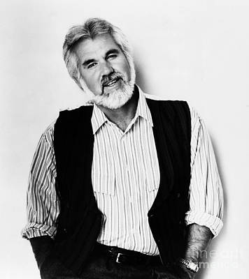 Kenny Rogers (1938-) Print by Granger