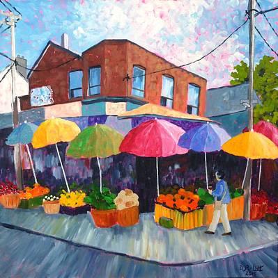Kensington Market Original by Diane Arlitt