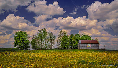 Daviess County Photograph - Kentucky Quilt Barn by Wendell Thompson