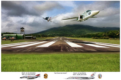 Kep Field Air Show Print by Peter Chilelli