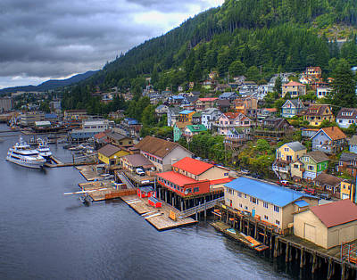Ketchikan Alaska Print by Don Wolf