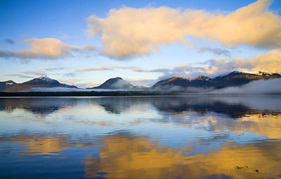 Ketchikan Sunrise Print by Mike  Dawson