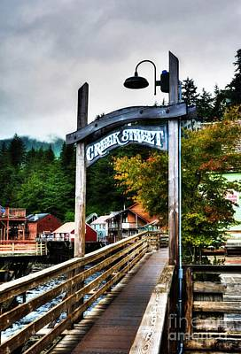 Ketchikan's Creek Street Print by Mel Steinhauer