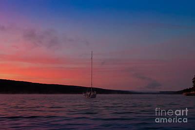 Keuka Lake Sunrise Original by Steve Clough