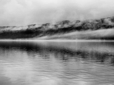 Grey Clouds Photograph - Keuka Mists by Joshua House