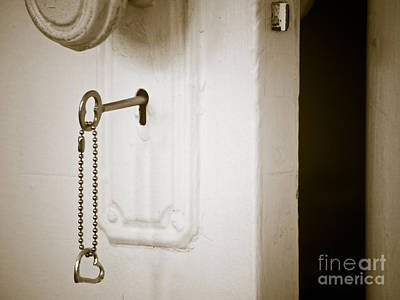 Key To My Heart Print by Valerie Morrison