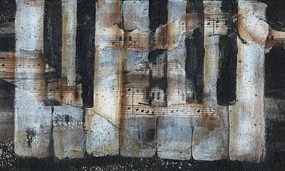 Jeannine Mixed Media - Keyboard by Jeannine Clesie